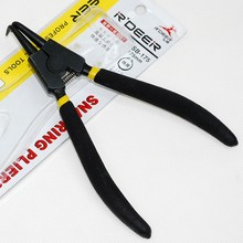 Lock repair circlip spring pliers outside the bend 6 - inch axis with special Retainer