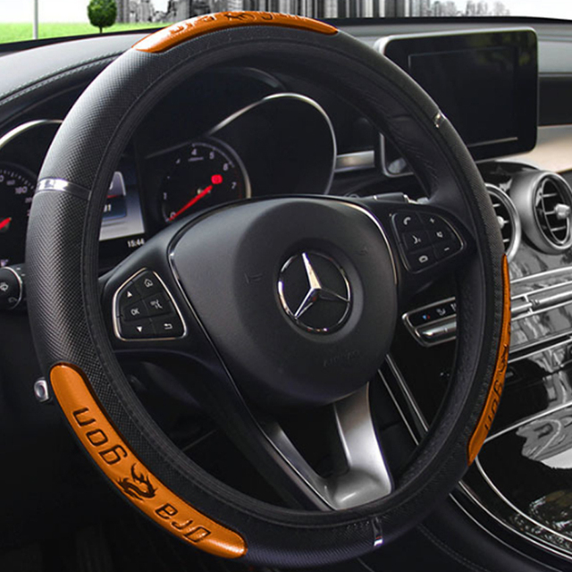 Car Steering Wheel Cover Anti-catch Holder Protector 38CM