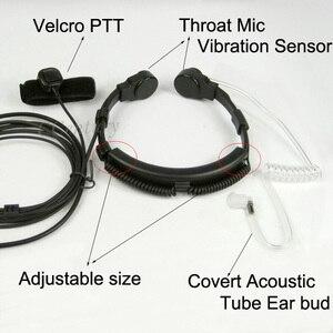 Image 3 - Xqf 2 Pin Họng Micro Tai Nghe Chụp Tai Kèm Mic Tai Nghe PTT Cho Motorola Tai Nghe Bộ Đàm CP040 CP140 CP180 CP185 CP200 EP450 GP300