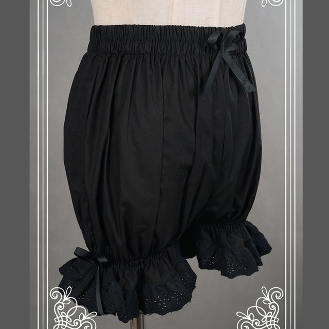 Sweet Cotton Lolita Shorts/Bloomers with Lace Trimming 10