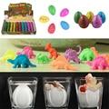 5 Pcs/Set Pcs Hatching Dinosaur Eggs Expansion Growing Add Water Magic Cute Kids Toy