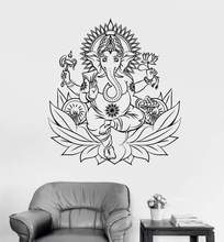 Vinyl Art Wall Stickers Buddha Yoga Meditation Home Decoration Fashion Modern Livingroom Decals Decor XL26