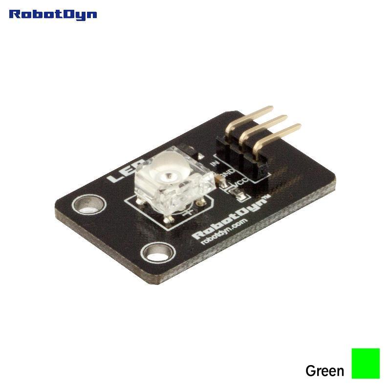 Super-bright Color Piranha LED Module  (GREEN)