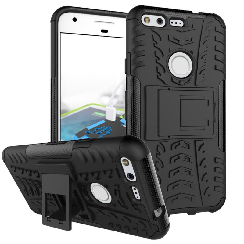 Case For Google Pixel Cover Shockproof TPU +PC Phone Stand Case For Google Pixel XL Case For Google Pixel 2 2XL