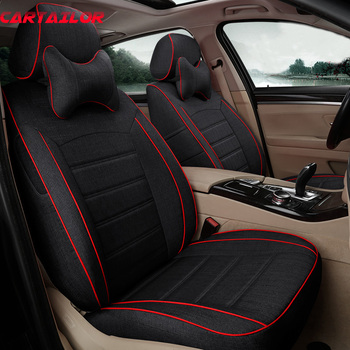 CARTAILOR Cover Cars Styling for Honda Odyssey Car Seat Covers Flax Automobiles Seat Cover Accessories Set Right Hands Drive