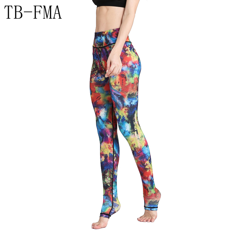 Women Sexy Yoga Pants High Waist Stretchy Dry Fit Sports Leggings Push Hip Athletic Sport Leggings Running Tights Yoga pants