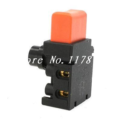 Electric Chain Saw Dual Pole Off-Lock Trigger Switch AC250V/6A for Makita 5016 power tool push lock button trigger switch dpst dual pole ac250v 6a