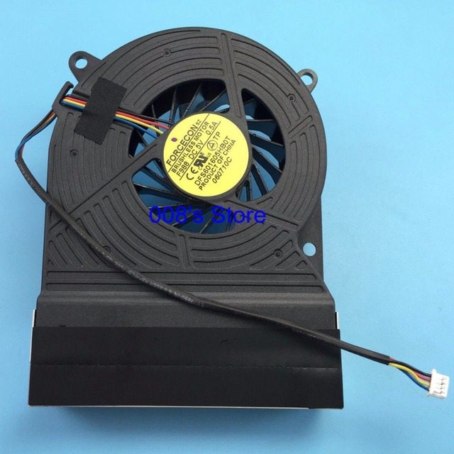 Original cpu cooler fan para hp touchsmart 600 pc all-in-one 600-1220 1160 1140 1210 1305 1310 1136d 1137d forcecon dfs601605hb0t