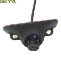 DISONTEL Czarny kolor dwa małe Diody Led CCD HD noktowizor przód tył oglądania uniwersalny aparat parkingowe kąt Obrotu