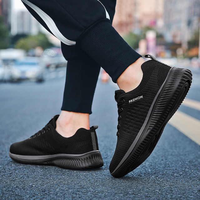 Men Sneakers Outdoor Sport Shoes Air Mesh Shoes Ultralight Breathable Running Shoes For Men Walking Jogging Training Shoes 2019 3