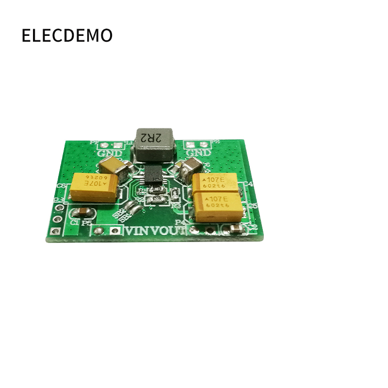 Image 2 - TPS63020module Automatic Buck Boost Power Module Board 2.5v 3.3v 4.2v 5v Lithium Battery Low Ripple function demo board-in Demo Board Accessories from Computer & Office