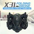 SYX31 Plegable 2.4 Ghz 4CH 6 Axis Gyro Control Remoto RC Quadcopter Drone RTF