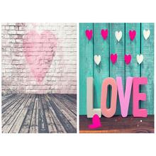 Love Theme Background Cloth Photographic Digital Props Canvas Table for Photographers Shooting products scene decoration