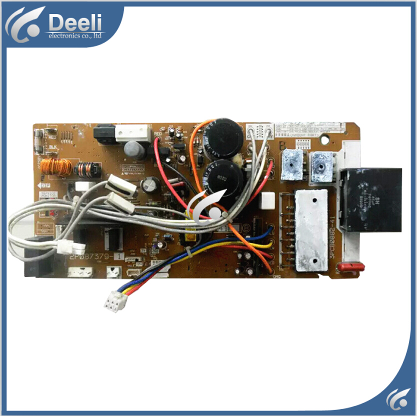 good working 100% new for inverter air conditioner 2P087379-1 2P087379-2 2P087379-3 RX35LV1C computer board 95% new used original for air conditioning control board 2p087379 1 2 3 rx35lv1c computer board motherboard