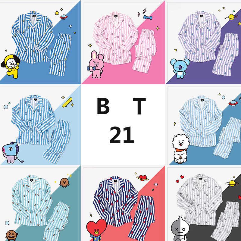 подробнее обратная связь вопросы о Bt21 Bts Kawaii мультфильм хлопок