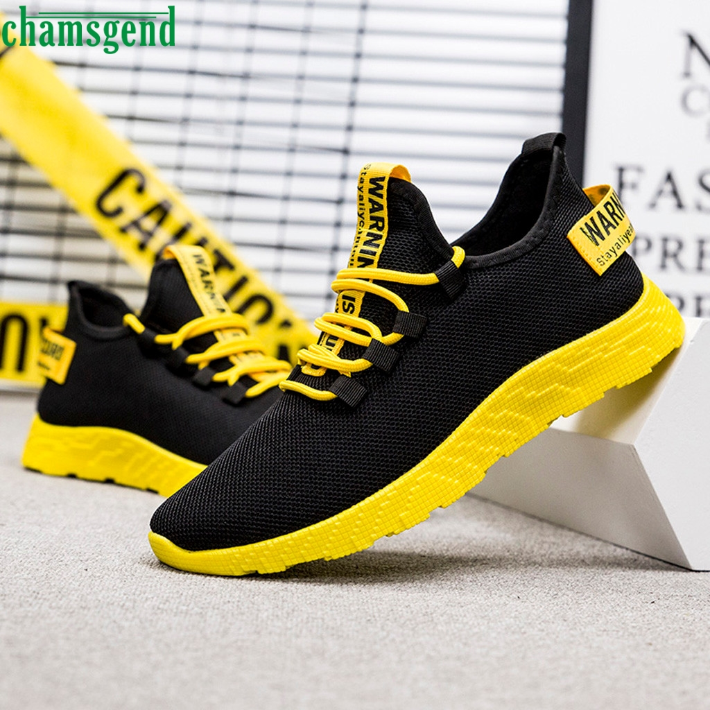 CHAMSGEND Shoes New Flying Weaving Men Sneakers Casual Outdoor Sneakers Hot Sell Breathable Summer Training Jogging Shoes  09