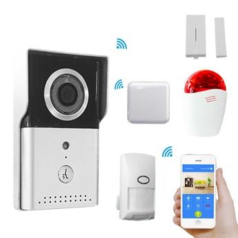 APP Remote Control WIFI IP Doorbell With Alarm Accessory