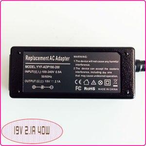 Image 2 - 19 V 2.1A dla ASUS Eee PC muszla 1225B 1225C 1015PED 1015 T 1015B 1005HE E305895 pokrowiec na laptopa adapter AC mocy ładowarka