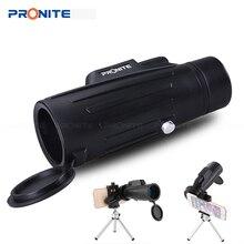 Professional Monocular Zoom 10x42 Telescope HD Night vision Binocular Hunting Scopes Turizm Spyglass With Phone Holder/Tripod