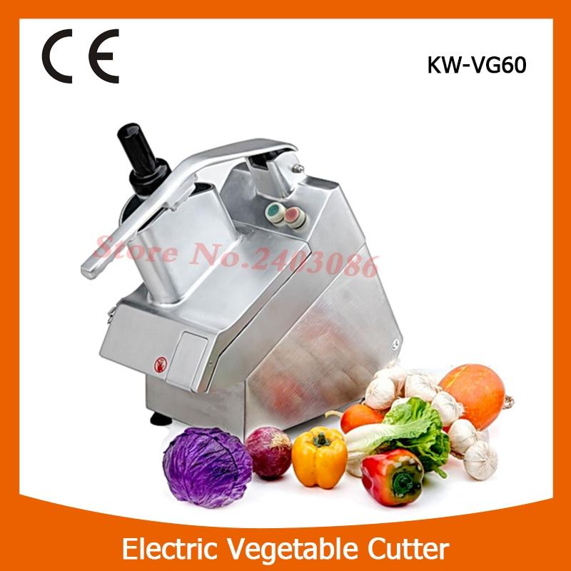 KW-VG60 electric cucumbe/onion vegetable cutter slicer machine semi circular hopper vegetable shredder with low noise for shop панель декоративная awenta pet100 д вентилятора kw сатин