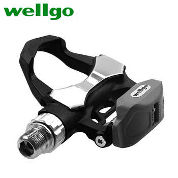 High Quality Wellgo R168 Carbon Bicycle Bike Pedal Cycling Lock Bicycle Pedals - DISCOUNT ITEM  15% OFF Sports & Entertainment