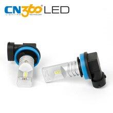 CN360 2 шт. H11 760 люмен супер яркий 6000 К белый авто светодиодный свет лампы противотуманной 2016 Последние поступление