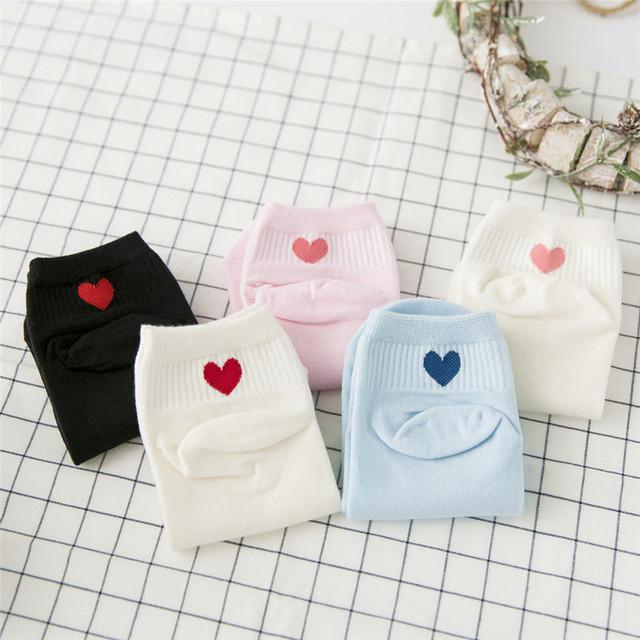 Women's Warm Heart Cute Comfortable Sock