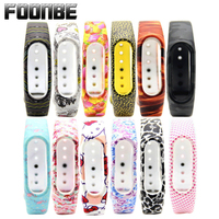 FOONBE For Xiaomi Mi Band 2 Butterfly Silicone Strap For Xiaomi 2 Bracelet Smart Wristband For Miband 2 Replacement Band