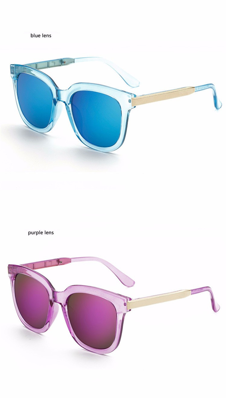Luxury High Quality Cat Eye Sunglasses Women Brand Designer 2017 Retro Sun Glasses For Women Lady Sunglass Female Mirror Glasses (14)