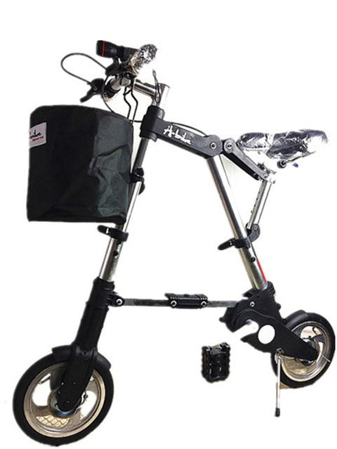 2019 Abike складной велосипед 8 дюймов 10 дюймов пакет супер легкий мини мужской и женский взрослый велосипед портативный фитнес-велосипед