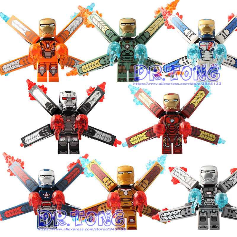 80PCS SY1103 Infinity War IronMan Marvel Super Hero Action Figure Avenger Iron Man Set Models Building Blocks Toys Children Gift super hero marvel lady sif thor hela valkyrja figure bruce banner berserker mandarin red skull building blocks single sale toys