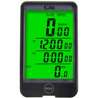Sunding SD-576A Waterproof Auto Bike Computer Light Mode Touch Wired Bicycle Computer Cycling Speedometer with LCD Backlight
