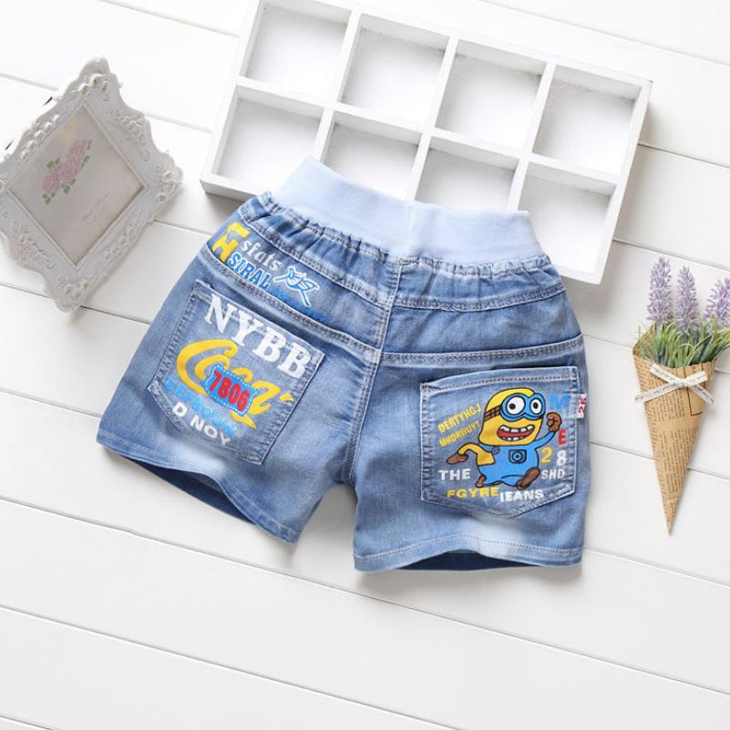 Summer Kids Child Pocket Shorts Boys Cargo Shorts casual middle Pants Overalls