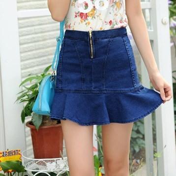 Online Get Cheap Stylish Denim Skirts -Aliexpress.com | Alibaba Group