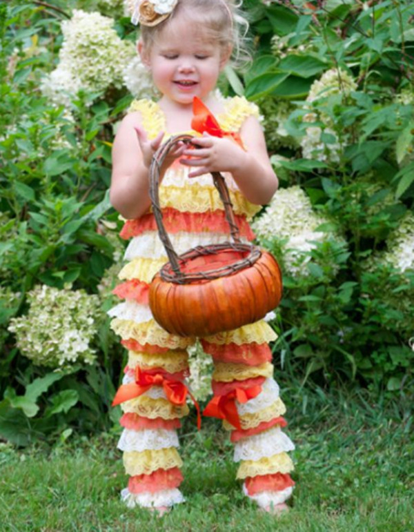 Baby Candy Corn Lace Romper Halloween Lace Petti Rompers Infant Girl Halloween Costume Outfit Romper Leg Warmer Set-in Rompers from Mother u0026 Kids on ...  sc 1 st  AliExpress.com & Baby Candy Corn Lace Romper Halloween Lace Petti Rompers Infant Girl ...
