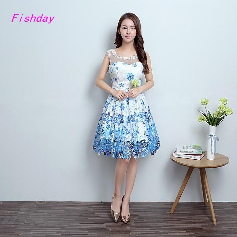 Aliexpress Com Buy Simple Elegant See Through Lace Part: Online Get Cheap Short Semi Formal Dresses For Juniors
