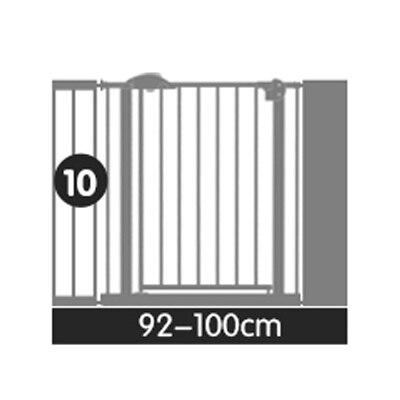 92 130 см много размер ворота безопасный ворота ПЭТ Изоляции Собака Забор ребенок безопасный Утюг Детская безопасность забор детские Лестниц