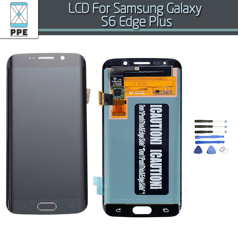 LCD Assembly For Samsung Galaxy S6 Edge Plus G928 G928F LCD Display Touch Screen Pantalla Replacement Gold Blue White