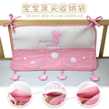 Candice guo! Newest arrival the baby head of a bed receive bag baby snake pink storage bag 1pc