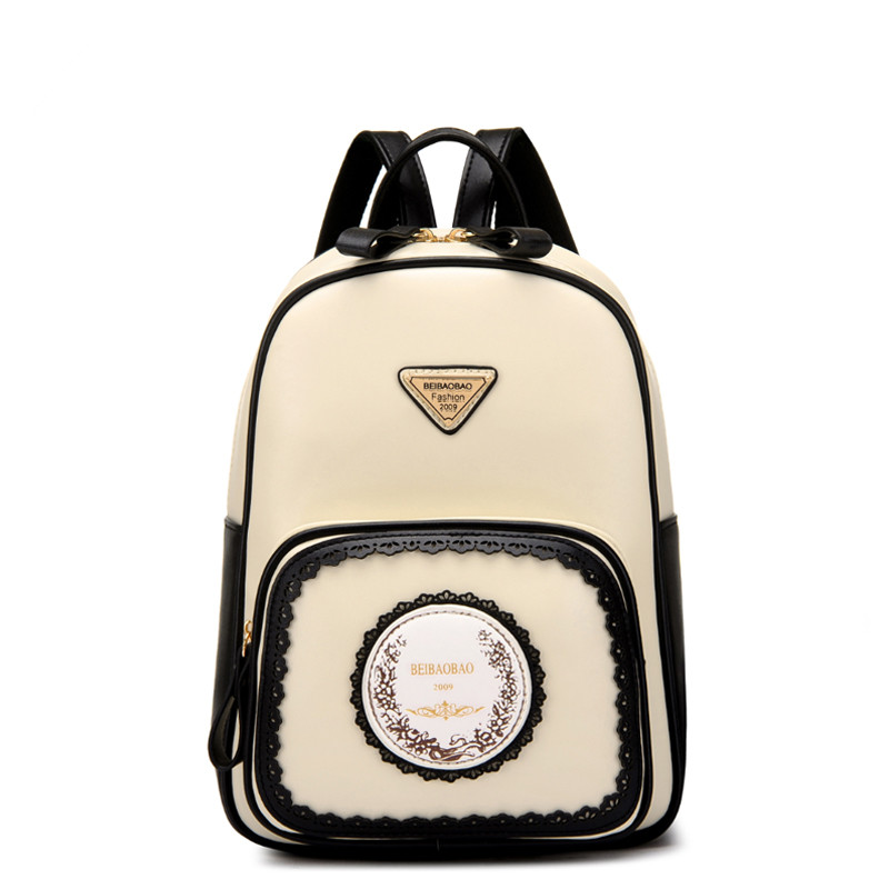 Retro Fashion Hollow Out Design Backapcks School Bag Teenager Girls Bookbags Women Leather Backpack Travel Backs Packs Sac A Dos