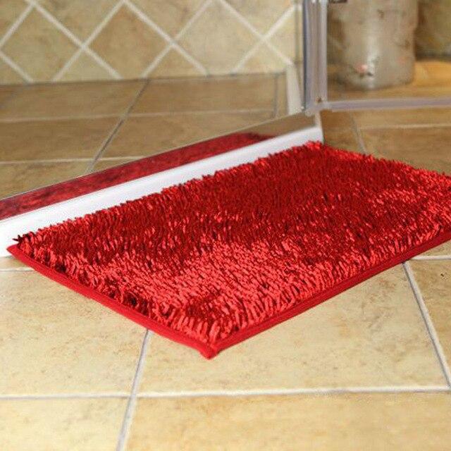 Moderno minimalista puerta de entrada alfombra de tela de poliéster ...