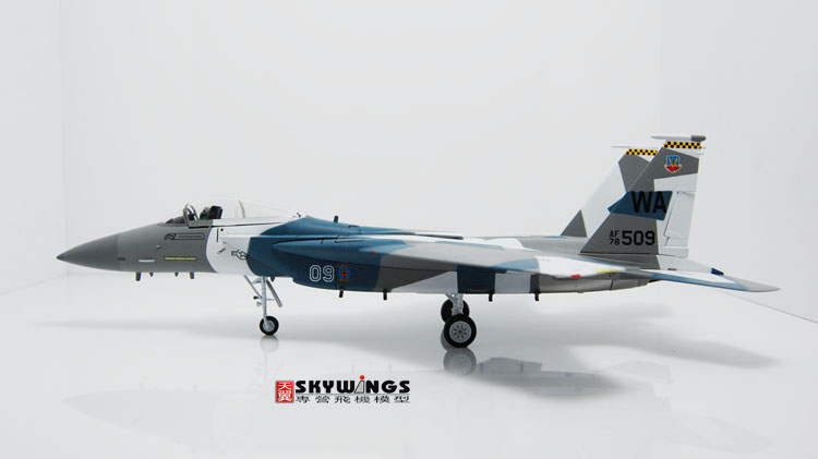 005-021 F-15C Witty Eagle Air Force sixty-fifth invaders squadron 1:72 Finished Model