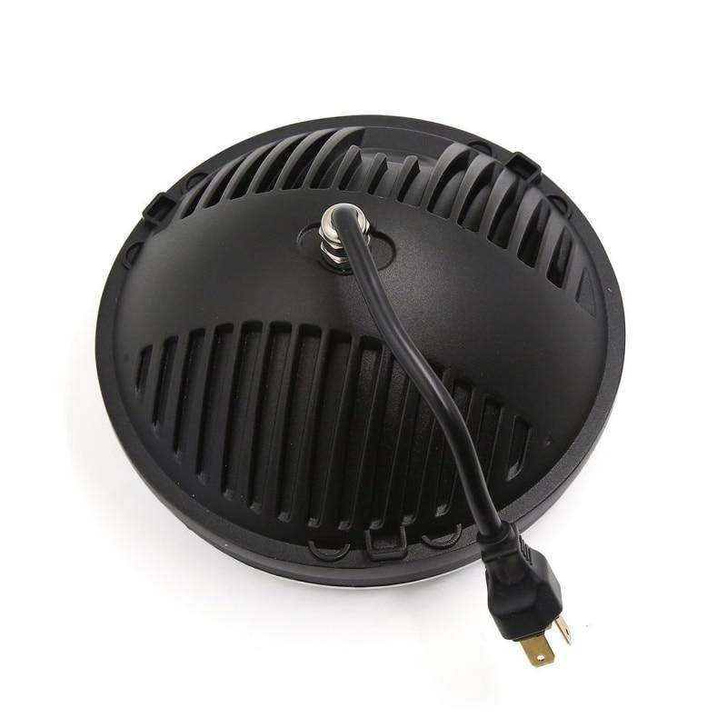 FADUIES 1 ζεύγος 7 ιντσών μαύρο στρογγυλό - Φώτα αυτοκινήτων - Φωτογραφία 2
