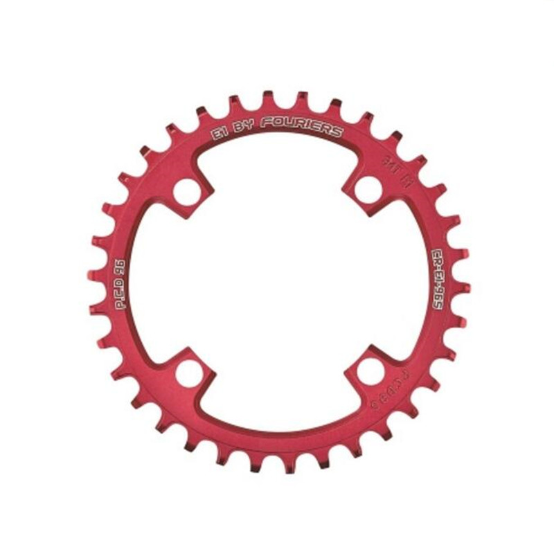 FOURIERS 96 BCD 40-48T MTB bike Chainring Chainwheel Narrow Wide tooth chain ring bicycle crankset Compatible with 10 speed cnc al7075 oval single chainring chain ring bcd 96 40t 42t 44t crank 1 x speed for shimano fouriers
