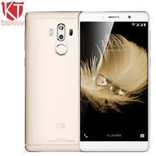 KT Original ZTE Axon 7 Max 6.0 Inch Mobile Phone 4GB RAM 64GB ROM Snapdragon 625 Octa Core Dual Rear Camera 13MP 4100mAh Battery