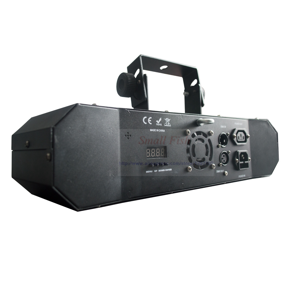 Professional 5IN1 Pattern Effect RGBW Audio Star Whirlwind Laser Projector Stage Disco DJ Club Bar KTV Family Party Light Show - 5