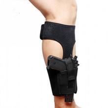 CQC военная универсальная тактическая Скрытая сумка для переноски пистолета кобура для ног на лодыжке охотничья сумка Glock 17 19 22 23 чехол для пистолета