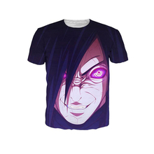 Anime 3D T Shirts ONE PIECE Naruto Men Women Tee Boys Girls Fashion Clothing