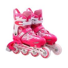 Los jóvenes Al Aire Libre Zapatos de Patinaje Slalom Patines en línea Zapatos de Patinaje sobre ruedas Durables Unisex/de Frenado/FSK Patines de Hockey Patines
