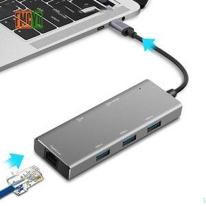 Image 4 - Laptop docking station Alle in One USB C zu HDMI Kartenleser PD Adapter für MacBookType C HUB